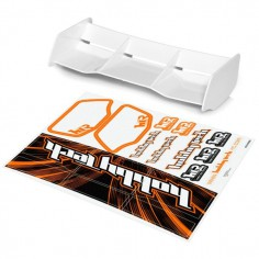 New high down force 1/8 Off Road wing WHITE + stickers