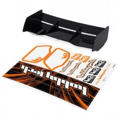 New high down force 1/8 Off Road wing BLACK + stickers