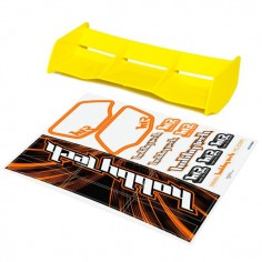 New high down force 1/8 Off Road wing YELLOW + stickers