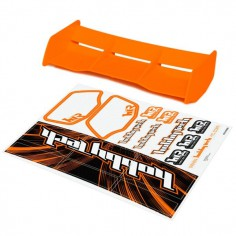 New high down force 1/8 Off Road wing ORANGE + stickers