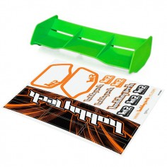 New high down force 1/8 Off Road wing GREEN+ stickers