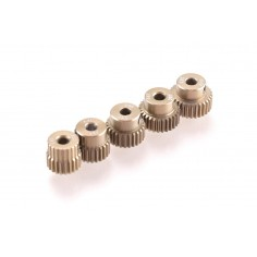 64dp Aluminium Pinion 5-Pack Even (22,24,26,28,30T)