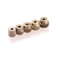 64dp Aluminium Pinion 5-Pack Odd (21,23,25,27,29T)