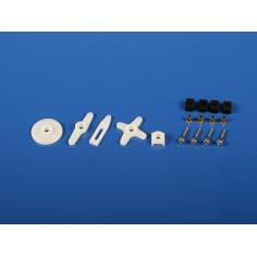 6317 Standart Horn+Hardware Set Hitec