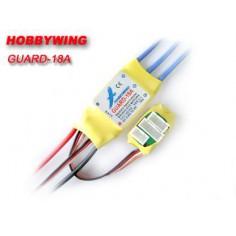 Hobbywing Guard (Professional) 18A/22A greičio reguliatorius bešepetėliniams varikliams (Brushless ESC) su apsauga