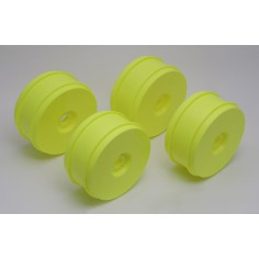 RC8 83mm wheels yellow