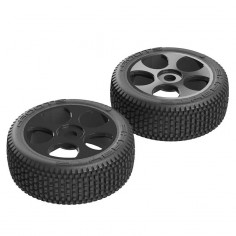Exabyte BGY 6S Tire/Wheel Glued Black (2)