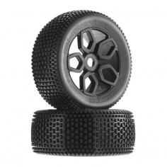 AR550026 Exabyte NT Truggy Tire Set Pre-Glued