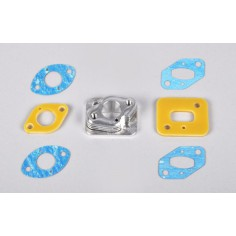 Insulated carburetor spacer for CY / Zenoah / Fuelie