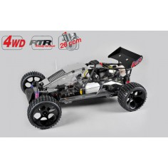 FG Buggy WB 535, 4WD, RTR, transparent body