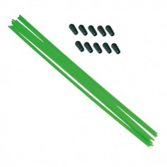 Antenna rod green (10 pcs.)