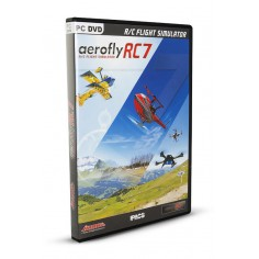 aeroflyRC7 Profesional on DVD for Windows