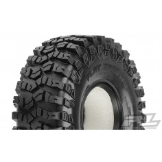 "Flat Iron XL 1.9"" G8 Rock Terrain Truck Tires w/Memory Foam for Front or Rear 1.9"" Crawler"