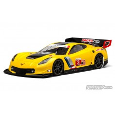 Chevrolet Corvette C7.R Clear Body (GT2) for 1:8 GT (Long Wheelbase)