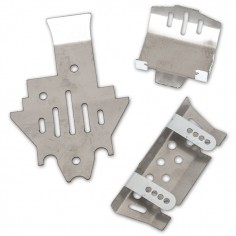 Chassis lower protection plate set for TRX4