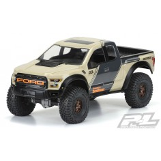 "2017 Ford F-150 Raptor Clear Body for 12.3"" (313mm) Wheelbase Scale Crawlers"