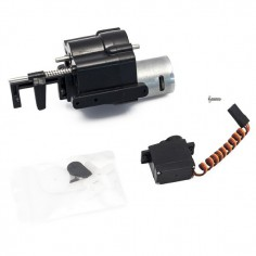 2 Speed Gearbox Motor + Shift Servo Transmission for CR4/PR4