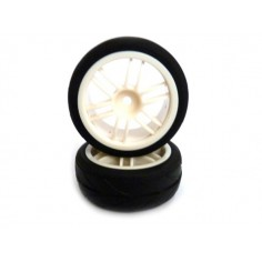 White Rim & Tire Complete (02018w+02019) 2p