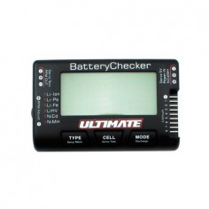 Battery Voltage Capacity Checker + servo tester