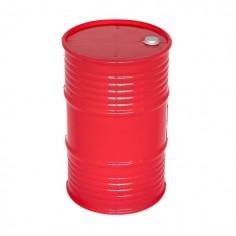 Oil barrel plastic big red