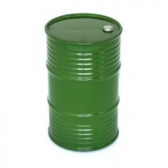 Oil barrel plastic big green