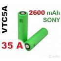 Sony Konion US18650VTC5A 18650 2600mAh, 35A akumuliatorius