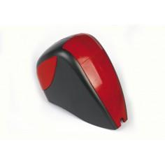 Hood red / grey