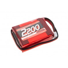 NOSRAM XTEC LiPo 2200 RX-Pack small Hump – RX-only – 7.4V