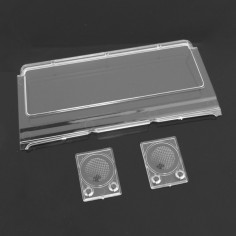 Windshield and front car light for Raid
