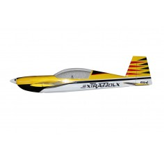 "103"" Extra 330LX 2600mm 120cc Yellow with Stripes"