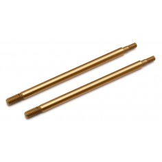 RC8B3 TiN Shock Shafts, 3.5x39.5 mm