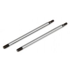 RC8B3 FT Chrome Shock Shafts, 3.5x39.5 mm