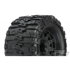 "Trencher HP 3.8"" All Terrain BELTED Tires Mountedfor 17mm MT Front or Rear, Mounted on Ra"