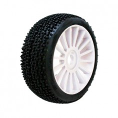 KILLER 1/8 OFF-ROAD SPORT PRE-MOUNTED ON WHITE WHEEL (2PCS)