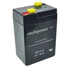 Multipower Pb-Akku MP5,0-6V