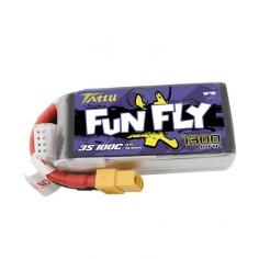 TATTU FUNFLY 1300mAh/14.8V 100C (200C max) akumuliatorius