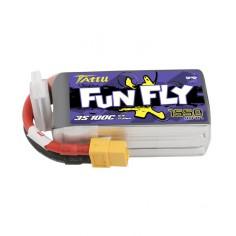 TATTU FUNFLY 1550mAh/11.1V 100C (200C max) akumuliatorius