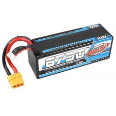 X-Celerated 100C LiPo Battery - 6750 mAh - 14.8V - Stick 4S - Hard Wire - XT90
