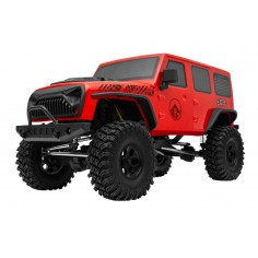 CREW 4X Crawler RTR set 2,4GHz red