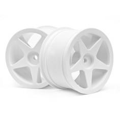 Ultra 5 wheel white (2,2in/60x38mm/2pcs)