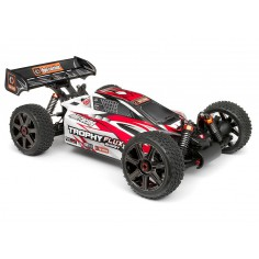 Clear Trophy Buggy Flux Bodyshell