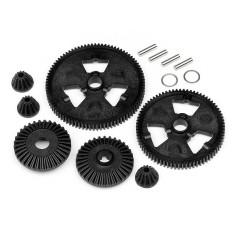 Spur gear/diff gear set (75T/87T/48P)