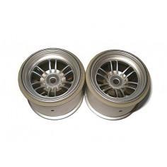 FT01 wheel set (black/front 2pcs/ rear 2pcs)
