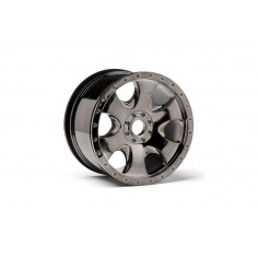 Warlock wheel black chrome (83x56mm) 2pcs