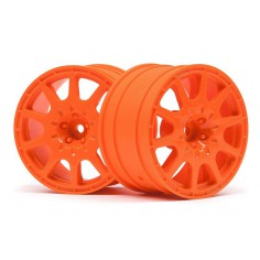 WR8 METHOD RALLYCROSS WHEEL 35MM ORANGE (2PCS)