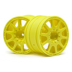 WR8 METHOD RALLYCROSS WHEEL 35MM YELLOW (2PCS)
