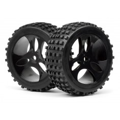 Mounted wheels and tyres 2pcs (Vader XB)