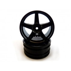 Black wheel rim Buggy (Front) 2pcs