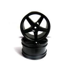 Black wheel rim Buggy (Rear) 2pcs