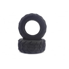 Monster Truck Tires with Foam 2P